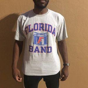 Champion Florida Gators band tee size large